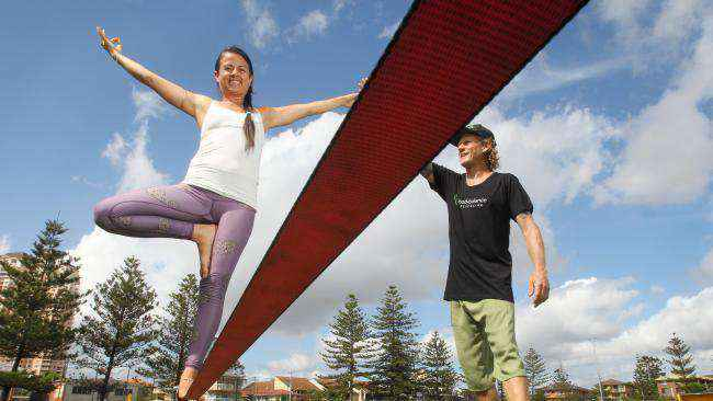 """Private Slacklining Workshop """"Cooper"""" Todd Becconsall 1-on-1"""